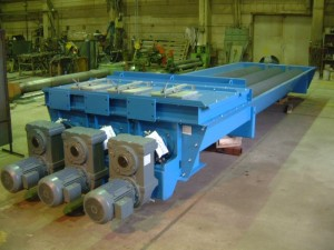 Triple Screw Conveyor